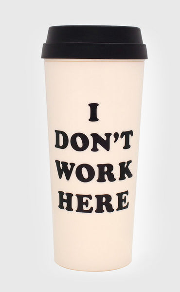ban.do: hot stuff thermal mug - i don't work here
