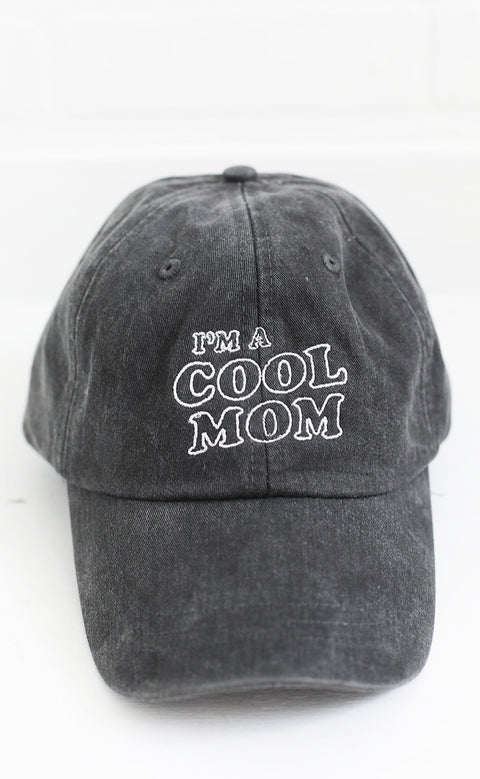 friday + saturday: cool mom hat