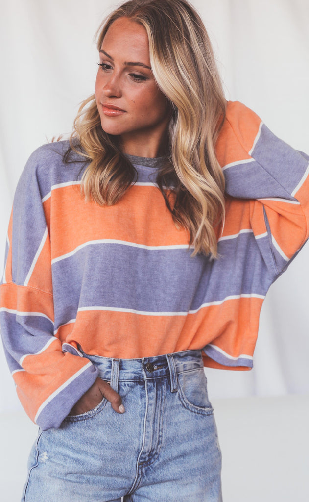 good feels striped top