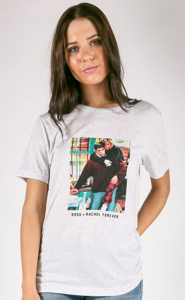 friday + saturday: ross + rachel forever t shirt