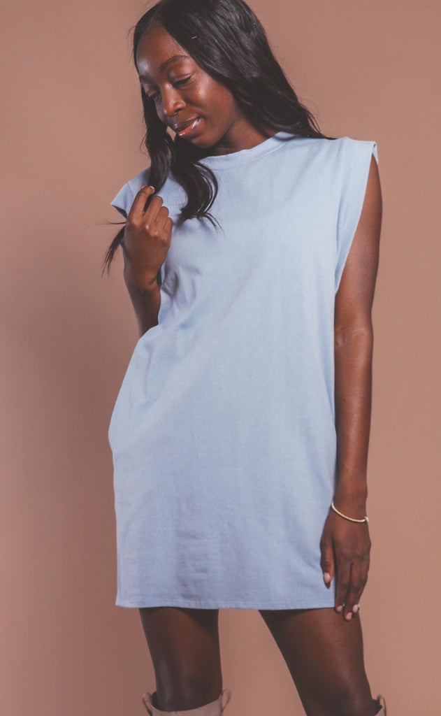get on board t shirt dress