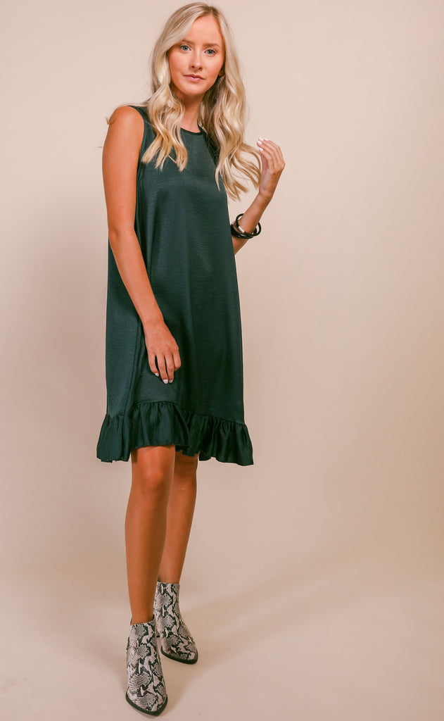 swing swing easy dress - hunter