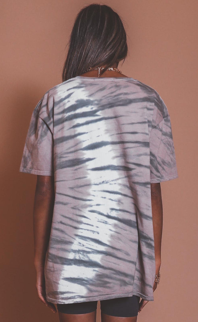 project social t: tiger oversized tee