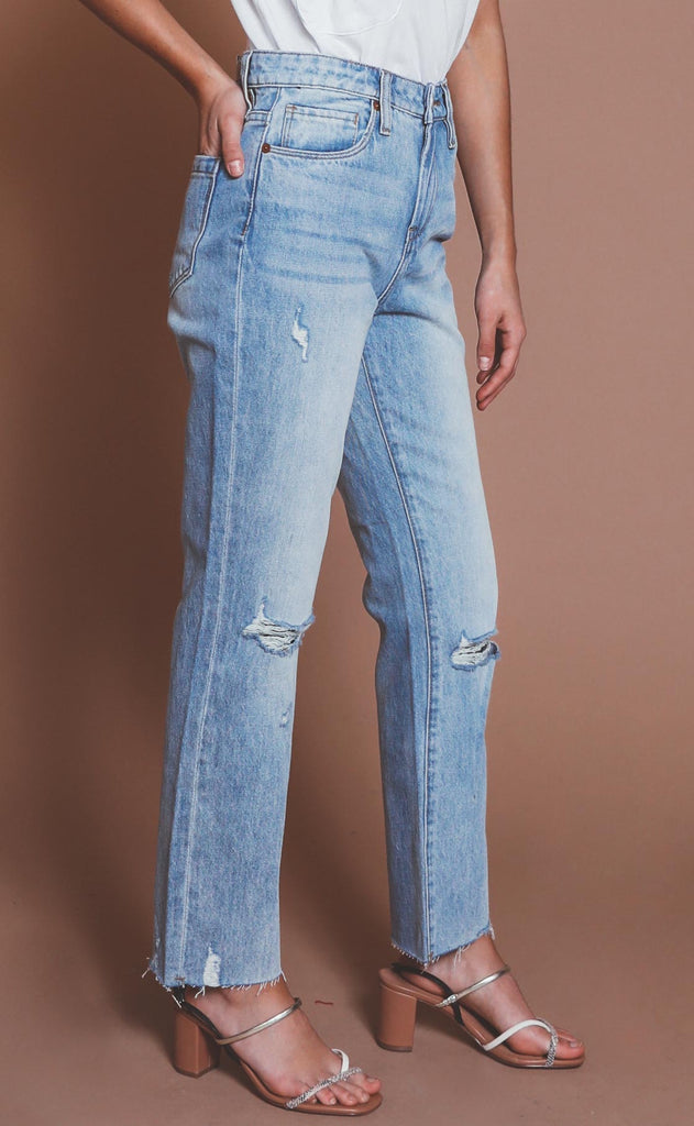 blank nyc: madison high rise jeans - perfect places