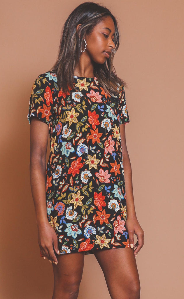 need a vacay floral dress