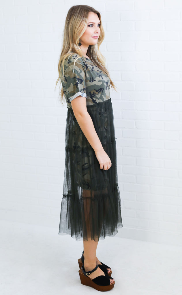 in disguise tulle dress