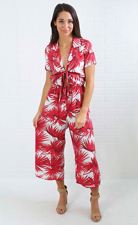 into the jungle printed jumpsuit