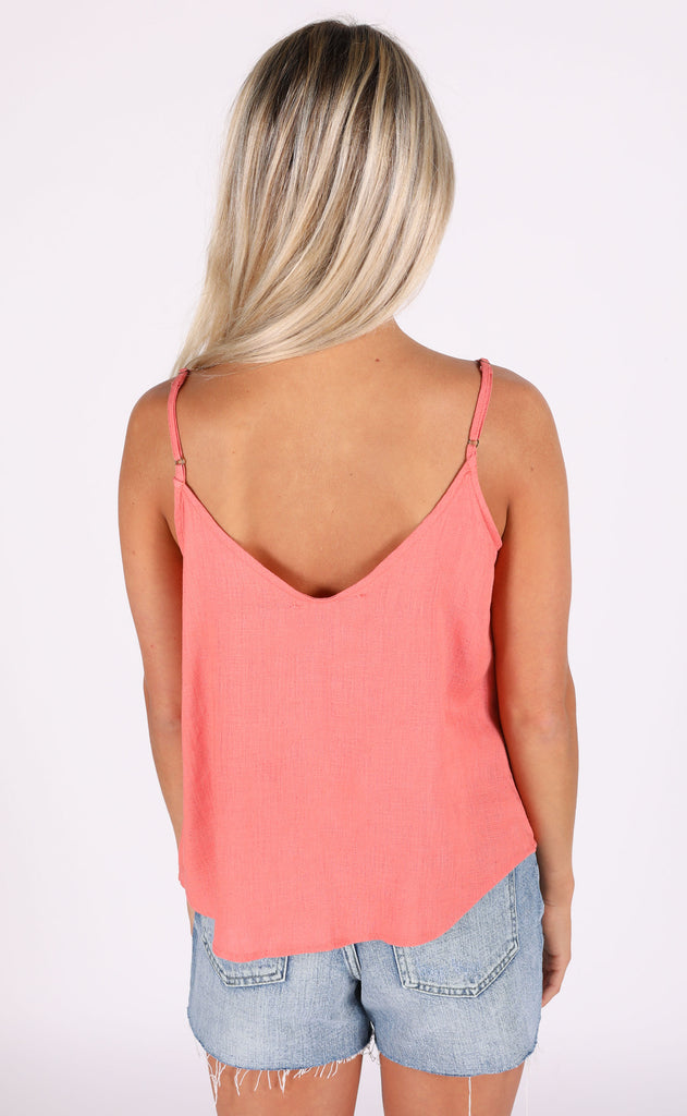 it's a date button up top - pink