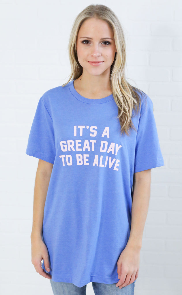 charlie southern: it's a great day to be alive t shirt
