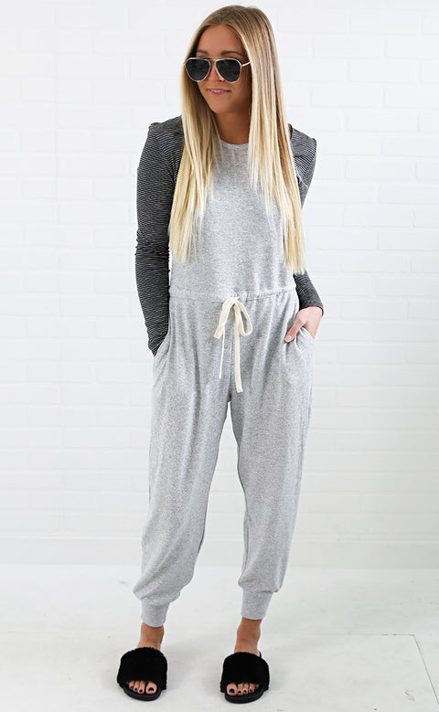 it's fate knit jumpsuit