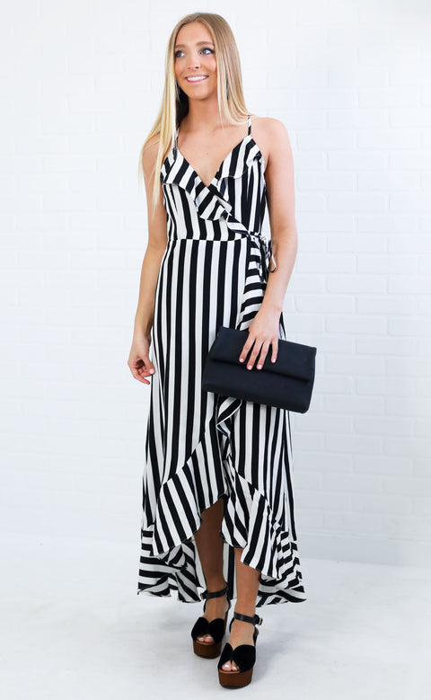 jailhouse rock wrap dress
