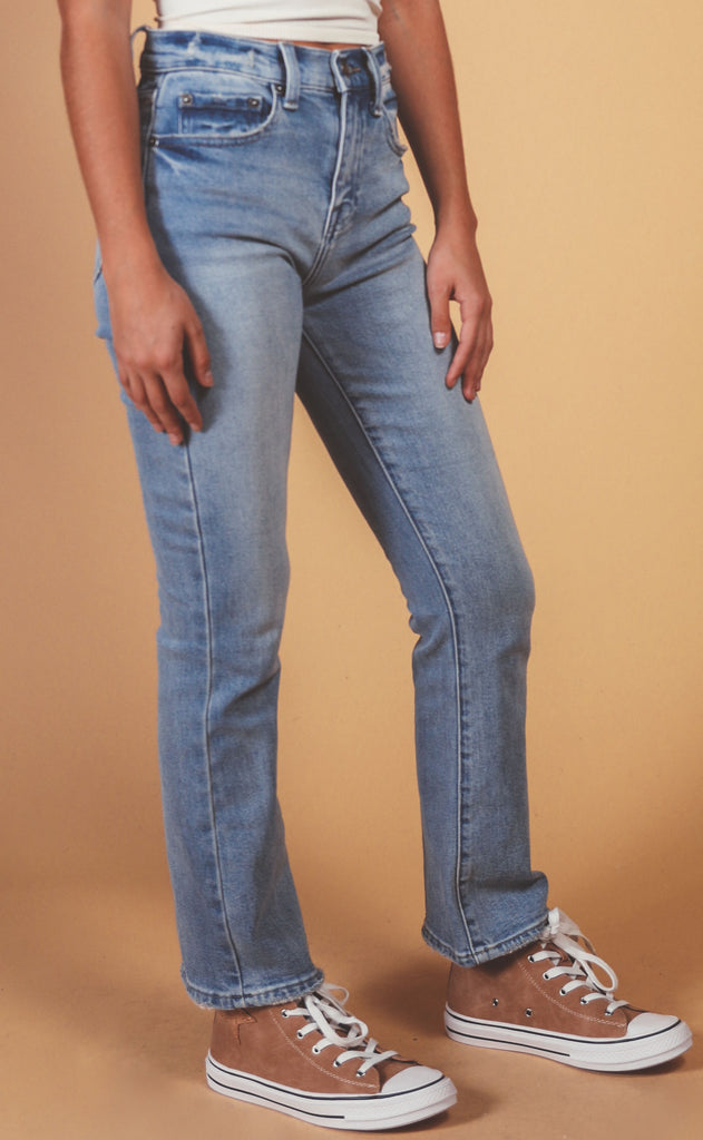 pistola: lennon high rise cropped boot jean - bristol