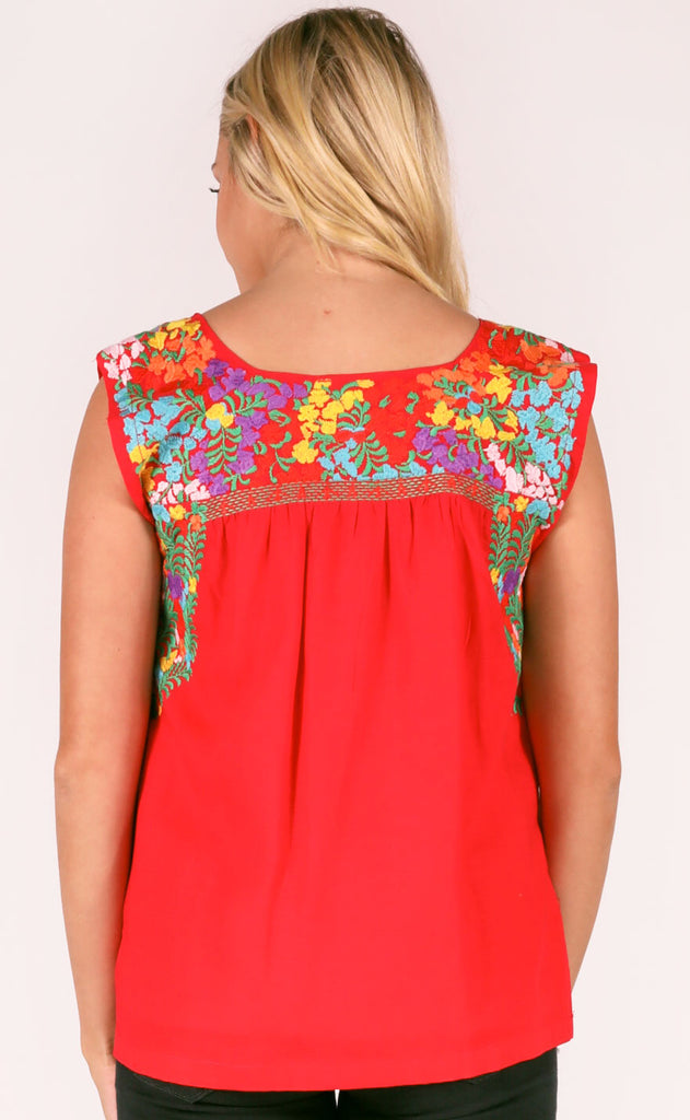 j.maire: catherine top - red