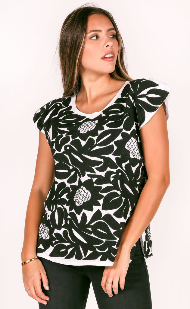 j.marie: mia top - white/black