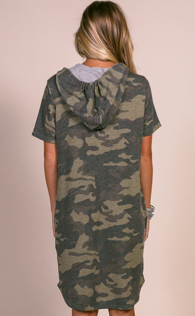 just chillin' camo dress