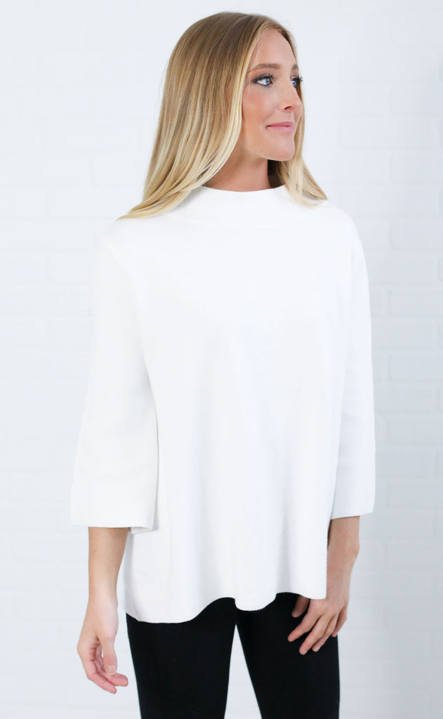 kali bell sleeve pullover