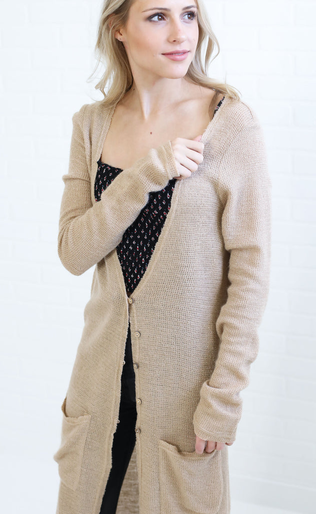 kalua button up cardigan