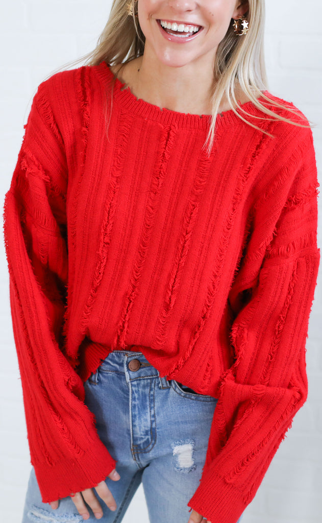 keep knit real crop sweater