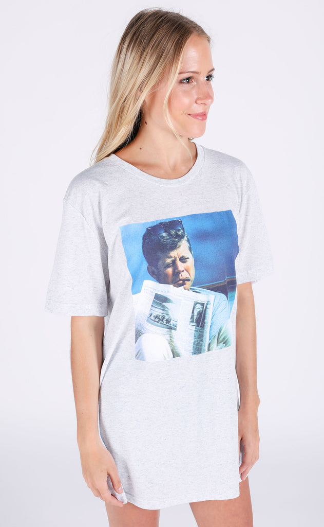 charlie southern: jfk t shirt (PREORDER)