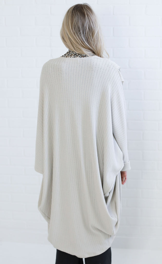 knit me up oversized cardigan