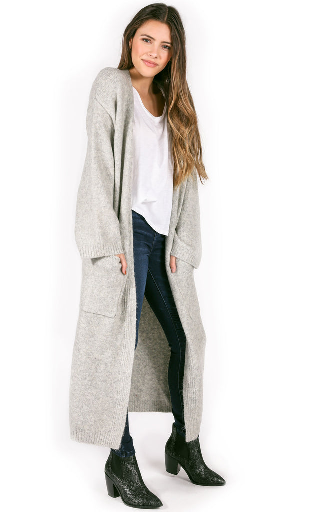 knitty gritty long cardigan
