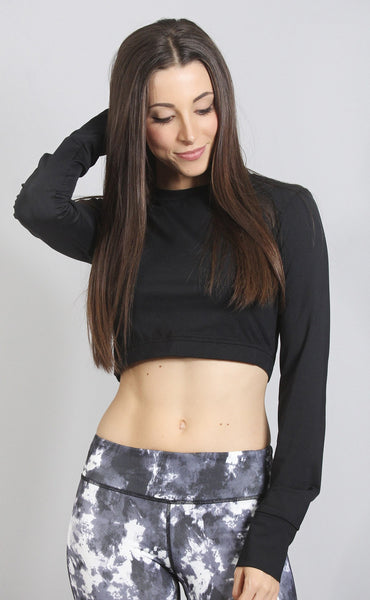 kylie workout crop top