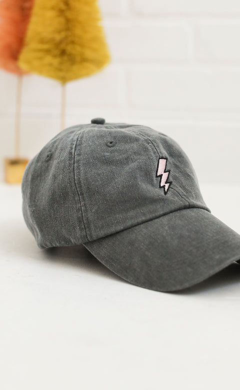 friday + saturday: lightning bolt hat (pre-order)