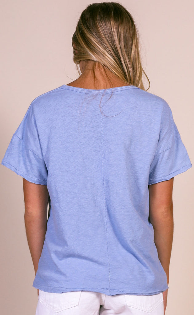 z supply: the lina club tee - forever blue