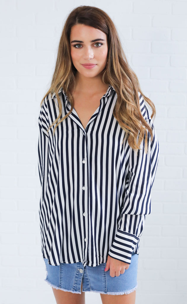 long weekend button up top