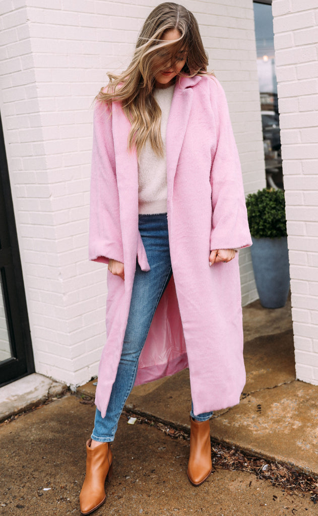 looking luxe oversized jacket