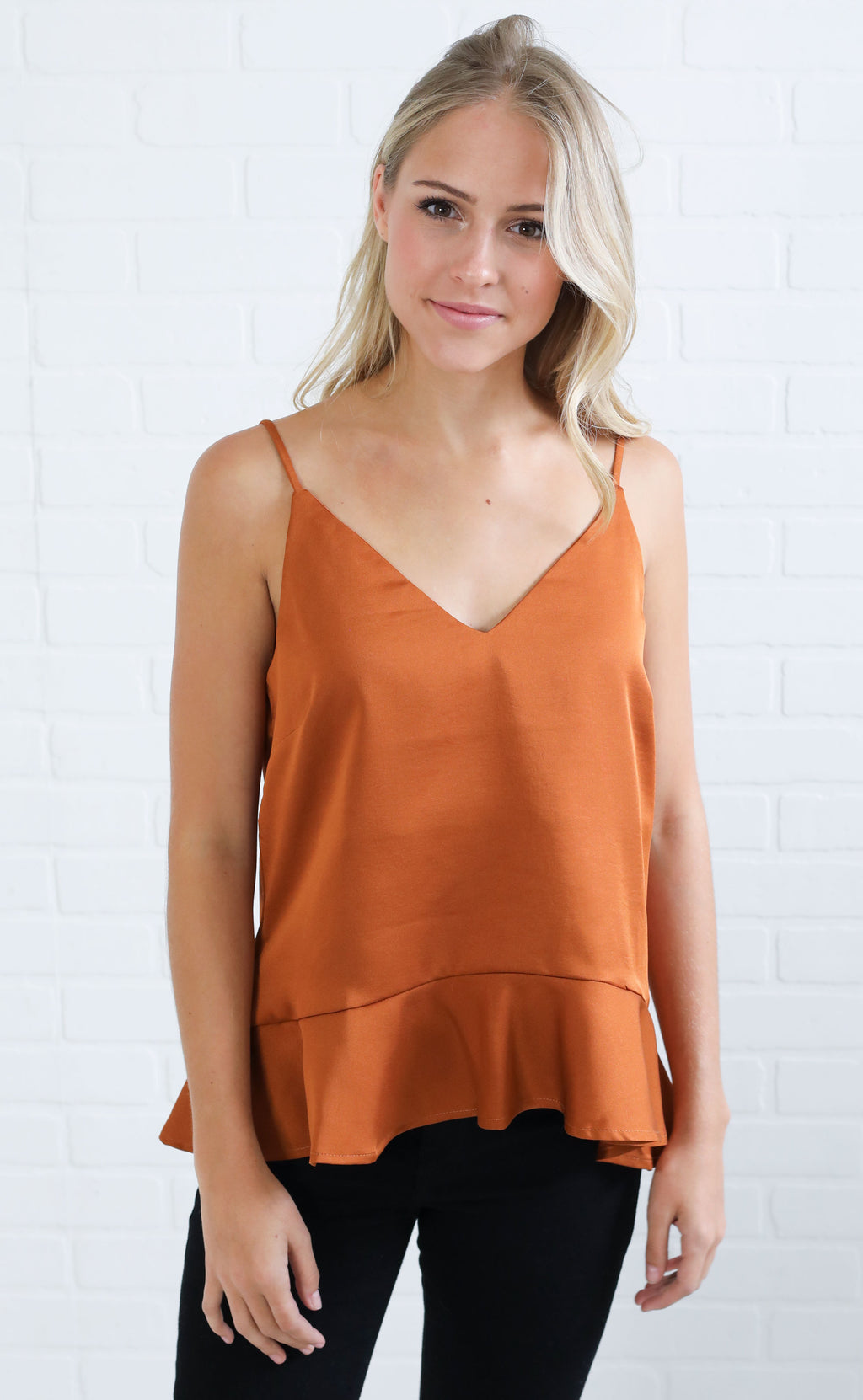 looks to frill ruffle top