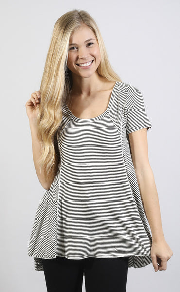 love at first sight striped top