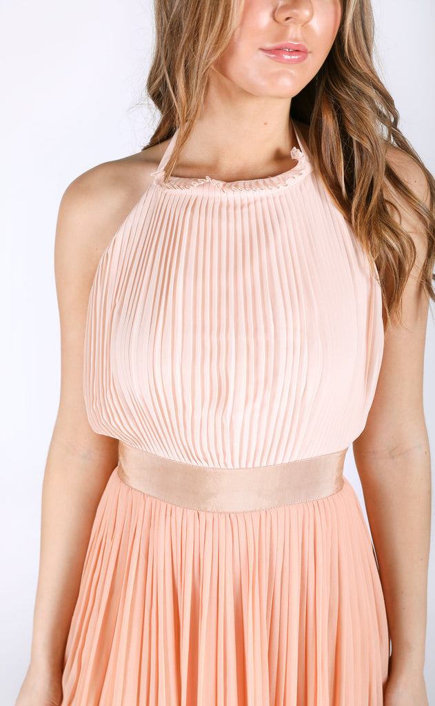 love me pleated dress