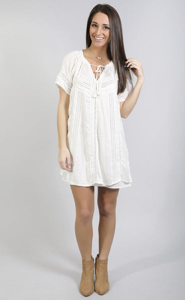 amuse society: loveland dress - casablanca