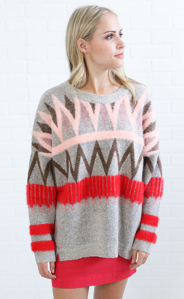lovestruck knit sweater