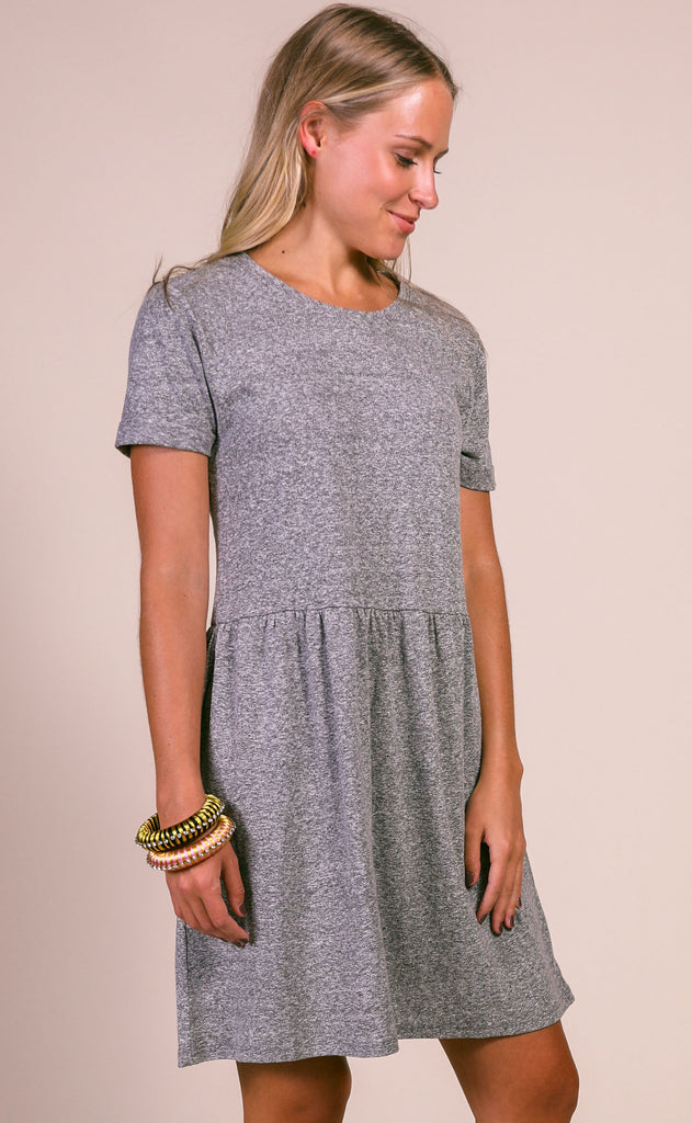 z supply: lucia triblend dress - washed black