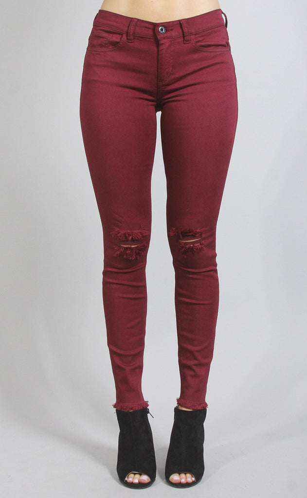 madison distressed skinny jean