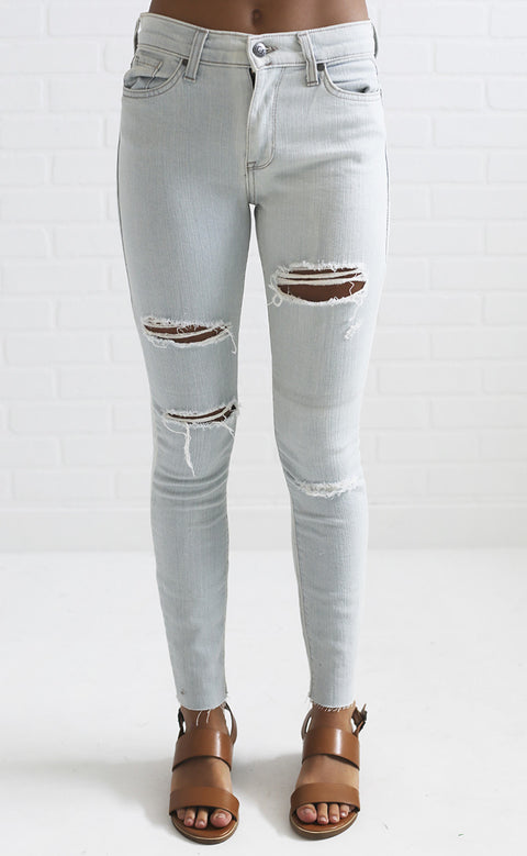 mallory distressed skinny jeans