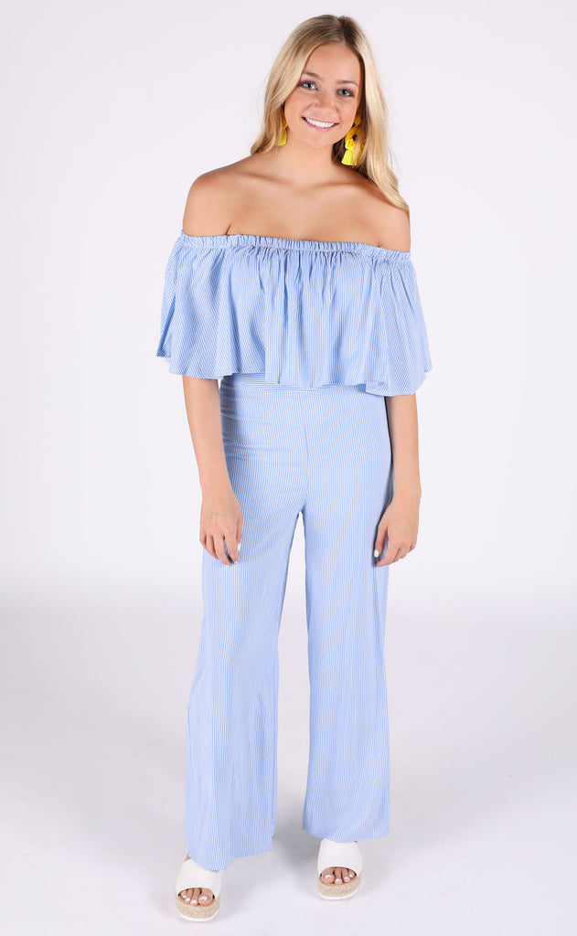 matchmaker two piece set - baby blue