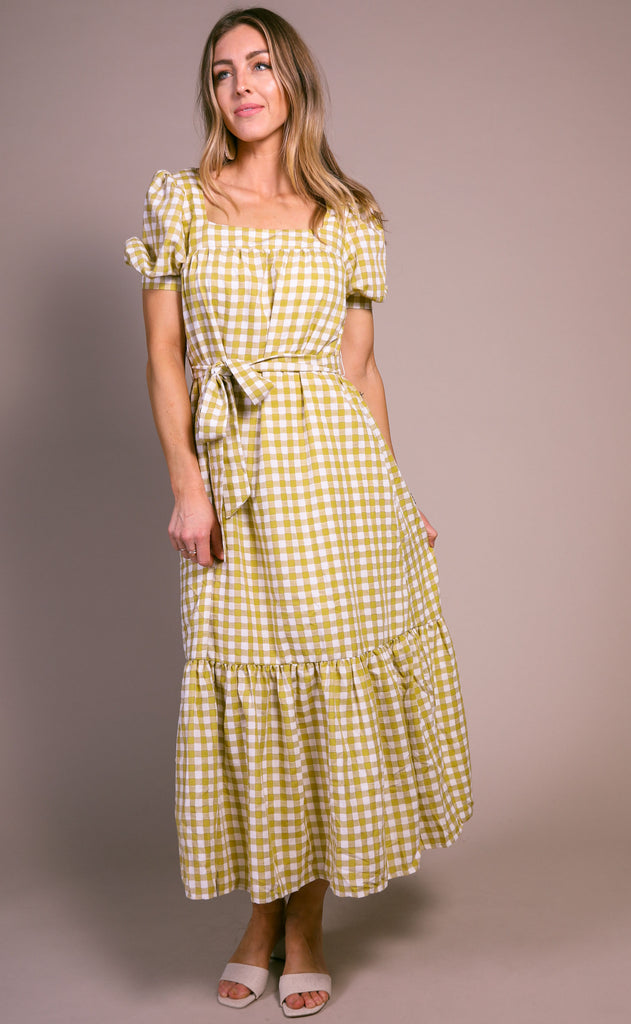 meadow woven dress