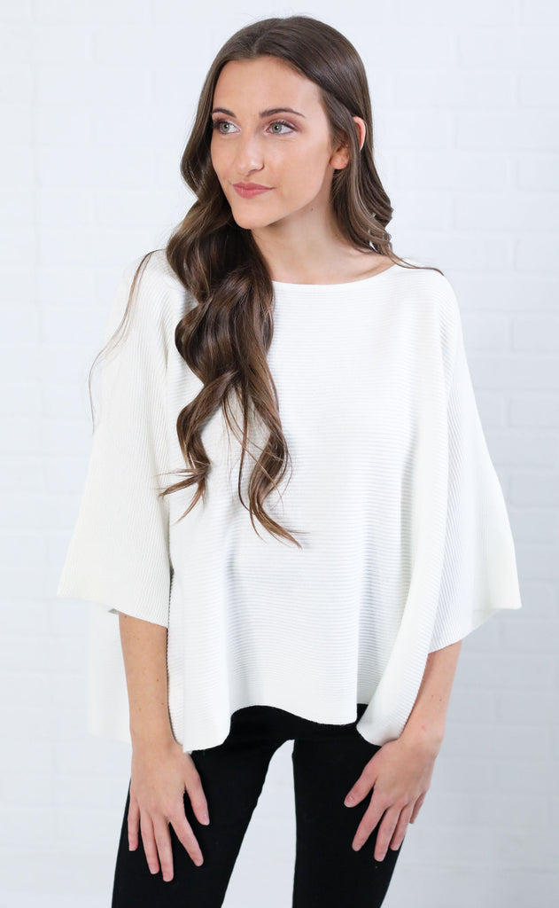 meredith knit top