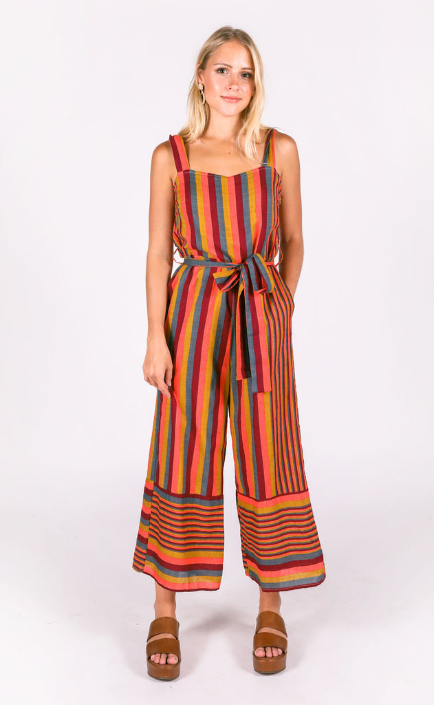 milana striped jumpsuit