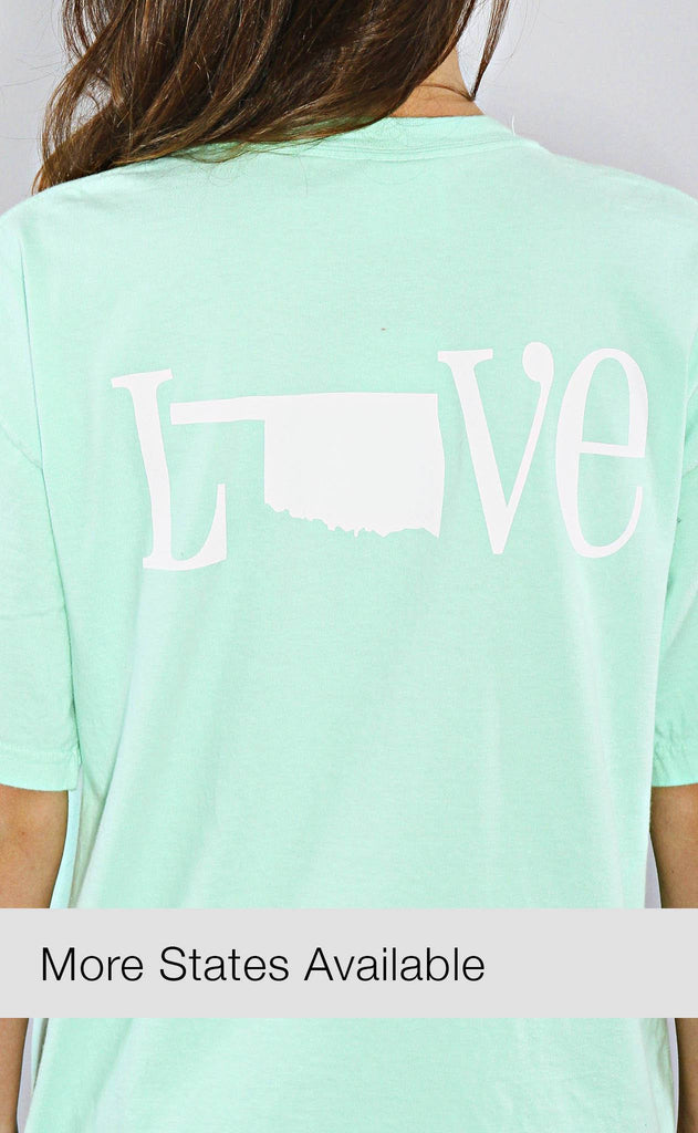 charlie southern: classic state love spirit tee (MORE STATES AVAILABLE)