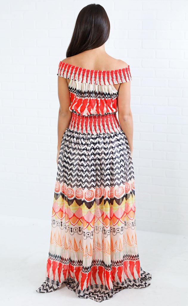 mix things up maxi dress