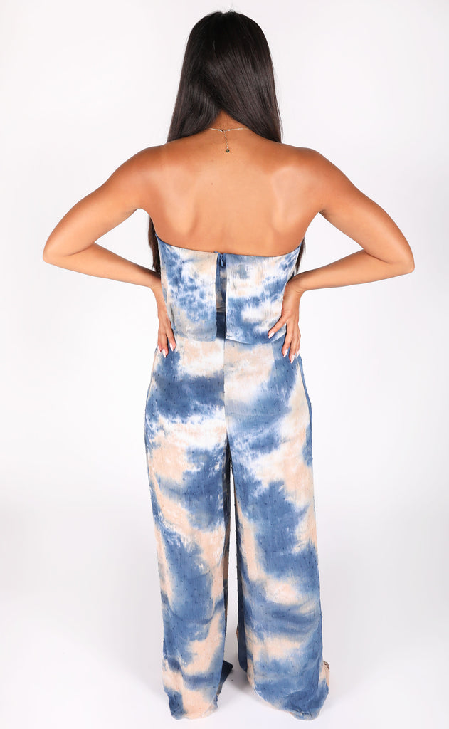 moment for life strapless jumpsuit