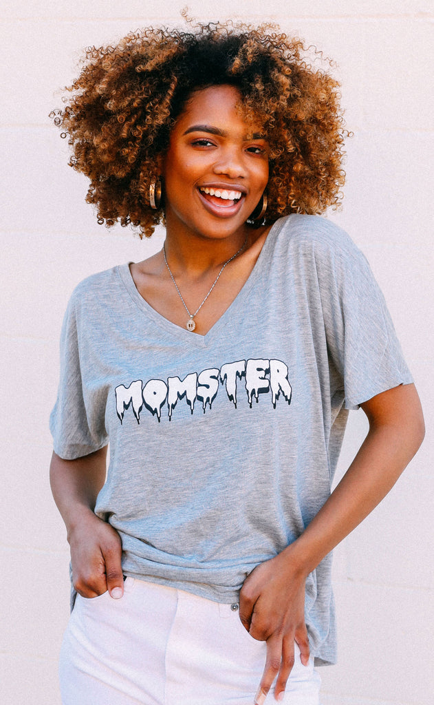 friday + saturday: momster t shirt
