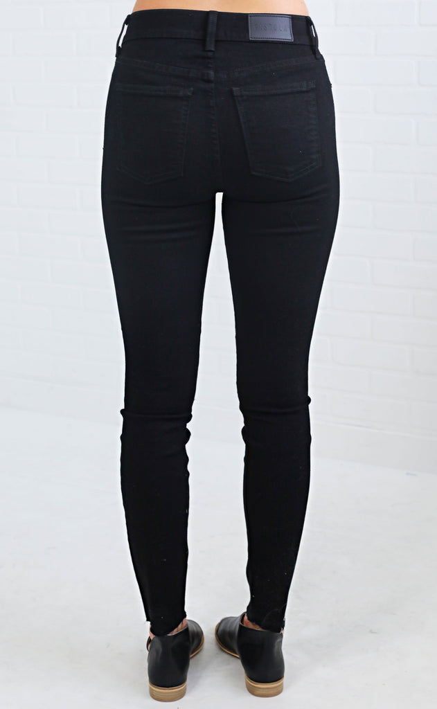 moonlight high waisted skinny jeans