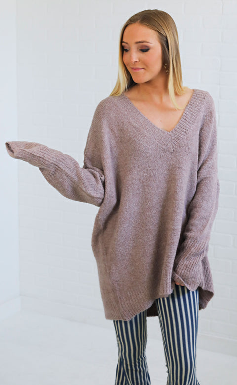 more to love oversized sweater