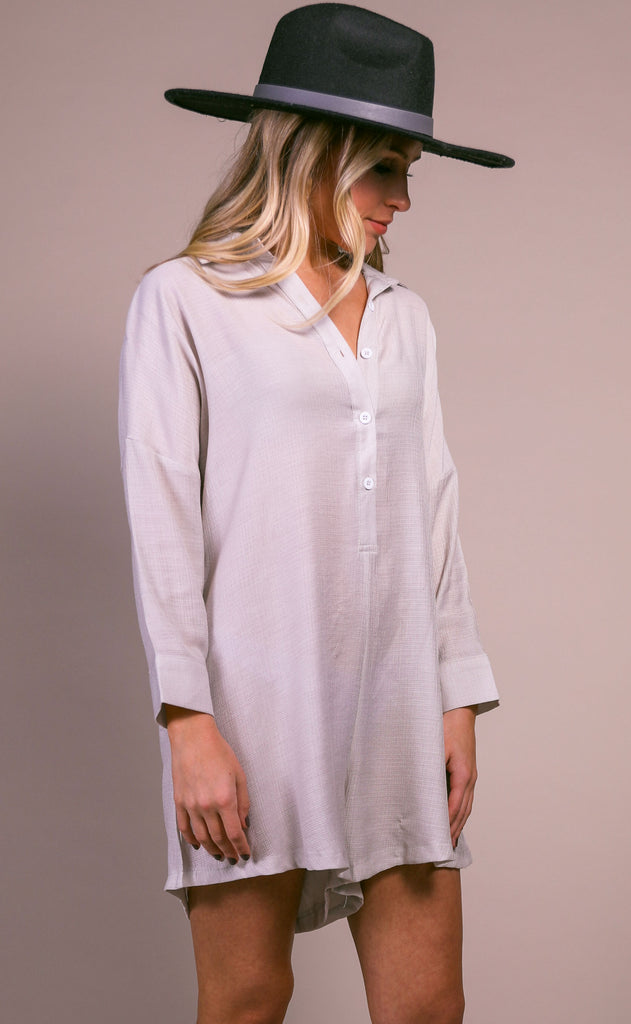 morning view button up romper