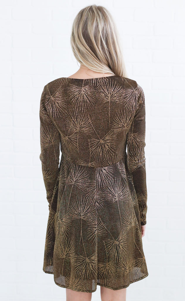 show me your mumu: dominique dress - the goldie frond